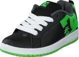 Dc Shoes Dc Kids Court Graffik Shoe Blk/Grs