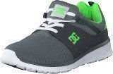 Dc Shoes Dc Kids Heathrow Shoe Grey/White/Green