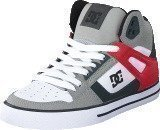 Dc Shoes Dc Spartan Hi Wc Grey/Red/White