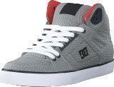 Dc Shoes Dc Spartan Hi Wc Tx Se Shoe Grey/Red