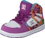 Dc Shoes Dc Tod Rebound Se Ul Shoe Purple Rain