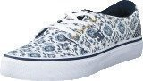 Dc Shoes Dc Trase Sp J Shoe Blue Print