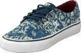 Dc Shoes Girls Trase Tx Se Shoe Denim