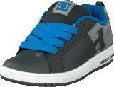 Dc Shoes Kids Court Graffik Shoe Battleship/Armor