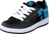 Dc Shoes Kids Court Graffik Shoe Black/Ocean/White