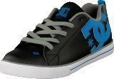 Dc Shoes Kids Court Graffik Vulc Shoe Black/Glacier Blue