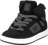 Dc Shoes Kids Rebound Wnt Shoe Black/Charcoal