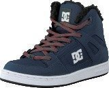 Dc Shoes Kids Rebound Wnt Shoe Navy/Grey
