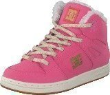 Dc Shoes Kids Rebound Wnt Shoe Rose Shadow