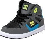 Dc Shoes Rebound Ul Black/Armor/Turquoise