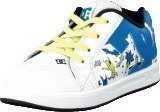 Dc Shoes Toddl. Court Gfk Elastic Ul White/Blue Print
