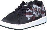 Dc Shoes Toddler Phos Shoe Black/Athletic Red/Black