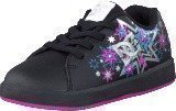 Dc Shoes Toddler Phos Shoe Black/Metallic Silver/Pink
