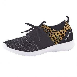 Desigual Lenkkarit Musta / Leopardi