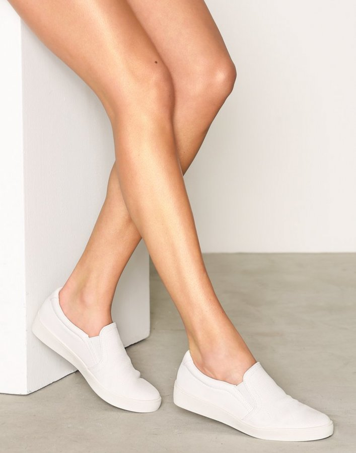 Duffy Slip-On Sneaker Slip-On Kengät Valkoinen