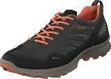 Ecco Biom Trail FL Black/ Dark Shadow/ Coral