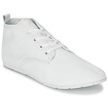 Eleven Paris BASIC WHITE korkeavartiset tennarit