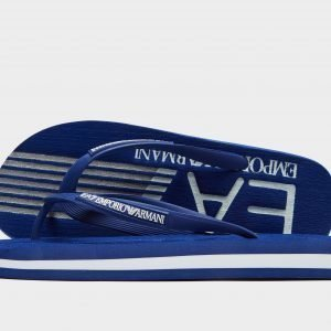 Emporio Armani Ea7 Sea World Flip Flops Sininen
