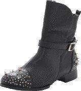 Fashion By C Rock 'n' roll boot Black