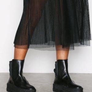 Fenty Puma By Rihanna Chelsea Sneaker Boot Varsitennarit Musta