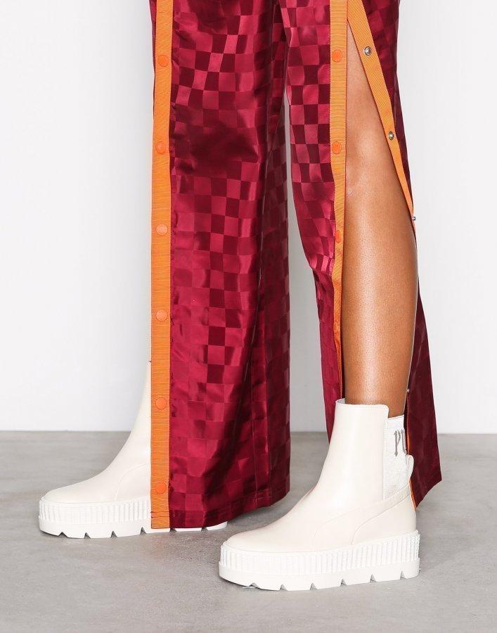 Fenty Puma By Rihanna Chelsea Sneaker Boot Varsitennarit Valkoinen