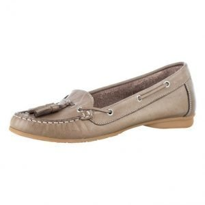 Filipe Shoes Loaferit Harmaanruskea
