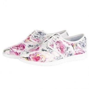 Filipe Shoes Nauhakengät Valkoinen / Kukallinen