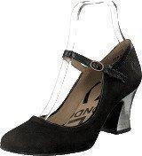 Fly London Lech Black/Silver Heel