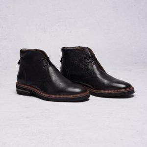 Frank Wright Elwood Black Leather