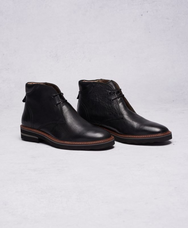 Frank Wright Elwood Black Leather