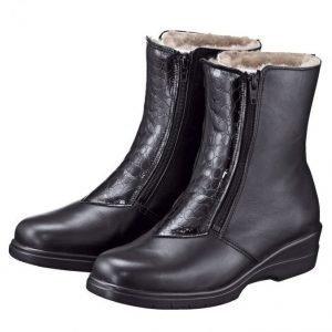 Franken Schuhe Nilkkurit Musta