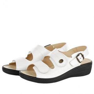 Franken Schuhe Sandaalit Valkoinen