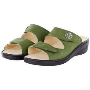 Franken Schuhe Sandaalit Vihreä