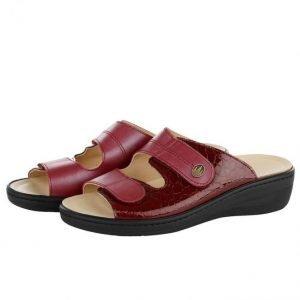 Franken Schuhe Sandaalit Viininpunainen