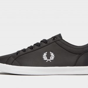 Fred Perry Baseline Ripstop Musta