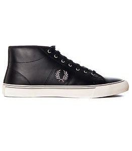 Fred Perry Haydon Leather Black