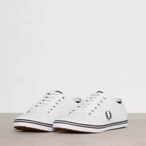 Fred Perry Kingston Leather Tennarit Valkoinen