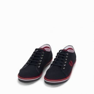 Fred Perry Kingston Twill Tennarit Navy/Red