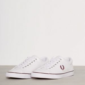 Fred Perry Underspin Canvas Tennarit Valkoinen