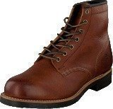 Frye Arkansas Mid Lace Redwood