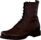 Frye Veronica Combat Dark Brown