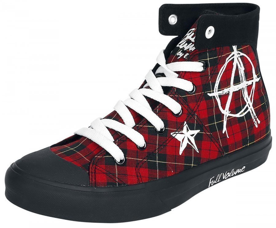 Full Volume by EMP Checkered Anarchy Sneaker Varsitennarit