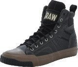 G Star Raw Campus Scott II Hi LTHR Black Lthr