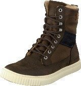 G Star Raw Recruit Highland Fleece Brown