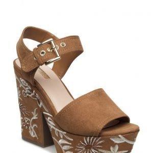 GUESS Caralin2/Sandalo (Sandal)/Fabr