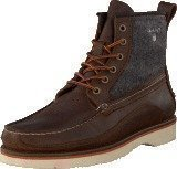 Gant Huck Dark Brown/Grey