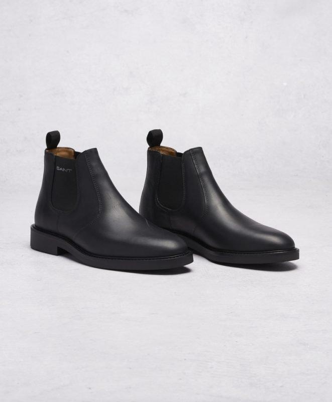 Gant Spencer Chelsea Leather G00 Black