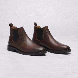 Gant Spencer Chelsea Leather G46 Dark Brown