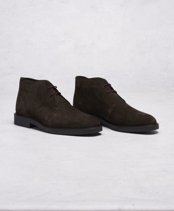 Gant Spencer Desert Suede G46 Dark Brown