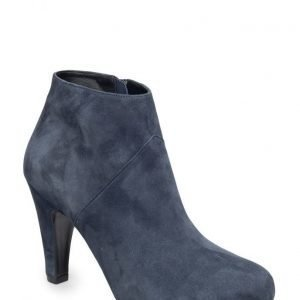 Gardenia Short Boot With Heel And Zip